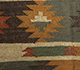 Jaipur Rugs - Flat Weave Jute Red and Orange PX-2109 Area Rug Closeupshot - RUG1107058