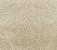 Jaipur Rugs - Hand Knotted Wool and Silk Beige and Brown QM-702 Area Rug Closeupshot - RUG1085224