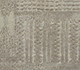 Jaipur Rugs - Hand Knotted Wool and Silk Grey and Black QM-716 Area Rug Closeupshot - RUG1069855