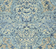 Jaipur Rugs - Hand Knotted Wool and Silk Blue QM-901 Area Rug Closeupshot - RUG1077720