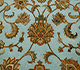 Jaipur Rugs - Hand Knotted Wool and Silk Blue QNQ-06 Area Rug Closeupshot - RUG1023480