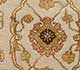 Jaipur Rugs - Hand Knotted Wool and Silk Ivory QNQ-07 Area Rug Closeupshot - RUG1042518