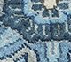Jaipur Rugs - Hand Knotted Wool and Silk Blue QNQ-10(CM-01) Area Rug Closeupshot - RUG1061893