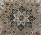 Jaipur Rugs - Hand Knotted Wool and Silk Green QNQ-55 Area Rug Closeupshot - RUG1023466
