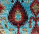 Jaipur Rugs - Hand Knotted Silk Blue SKCS-08 Area Rug Closeupshot - RUG1099725