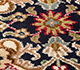 Jaipur Rugs - Hand Knotted Silk Red and Orange SKPS-52 Area Rug Closeupshot - RUG1093844