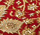 Jaipur Rugs - Hand Knotted Silk Red and Orange SKPS-53 Area Rug Closeupshot - RUG1093847