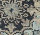 Jaipur Rugs - Hand Knotted Wool and Silk Blue SKRT-814 Area Rug Closeupshot - RUG1077876