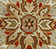 Jaipur Rugs - Hand Knotted Wool Blue SPR-01 Area Rug Closeupshot - RUG1024980
