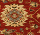 Jaipur Rugs - Hand Knotted Wool Red and Orange SPR-07 Area Rug Closeupshot - RUG1024966