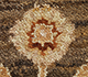 Jaipur Rugs - Hand Knotted Wool Beige and Brown SPR-07 Area Rug Closeupshot - RUG1074955
