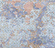 Jaipur Rugs - Hand Knotted Wool and Bamboo Silk Blue SRB-705 Area Rug Closeupshot - RUG1074120