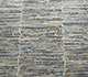 Jaipur Rugs - Hand Knotted Wool and Bamboo Silk Grey and Black SRB-712 Area Rug Closeupshot - RUG1074149