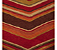 Jaipur Rugs - Hand Tufted Wool Red and Orange TAC-88 Area Rug Closeupshot - RUG1018763