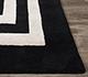 Jaipur Rugs - Hand Tufted Wool and Viscose Grey and Black TAQ-6054 Area Rug Closeupshot - RUG1060259