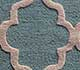 Jaipur Rugs - Hand Tufted Wool Blue TLT-655 Area Rug Closeupshot - RUG1101537