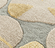 Jaipur Rugs - Hand Tufted Wool and Viscose Beige and Brown TOP-103 Area Rug Closeupshot - RUG1095465