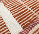 Jaipur Rugs - Hand Tufted Wool and Viscose Red and Orange TOP-111 Area Rug Closeupshot - RUG1095380