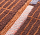 Jaipur Rugs - Hand Tufted Wool and Viscose Red and Orange TOP-111 Area Rug Closeupshot - RUG1098702