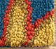 Jaipur Rugs - Hand Tufted Wool Blue TPL-54 Area Rug Closeupshot - RUG1032070