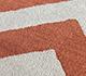 Jaipur Rugs - Hand Tufted Wool Red and Orange TRA-13039 Area Rug Closeupshot - RUG1102699