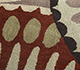 Jaipur Rugs - Hand Tufted Wool Red and Orange TRA-312 Area Rug Closeupshot - RUG1099323