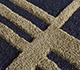 Jaipur Rugs - Hand Tufted Wool and Viscose Blue TRA-483 Area Rug Closeupshot - RUG1095928