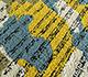 Jaipur Rugs - Hand Tufted Wool and Viscose Blue TRA-666 Area Rug Closeupshot - RUG1095665