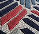 Jaipur Rugs - Hand Tufted Wool and Viscose Ivory TRA-672 Area Rug Closeupshot - RUG1095671