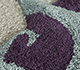 Jaipur Rugs - Hand Tufted Wool Blue TRA-689 Area Rug Closeupshot - RUG1095710