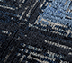 Jaipur Rugs - Hand Knotted Wool and Bamboo Silk Grey and Black USL-205 Area Rug Closeupshot - RUG1099495
