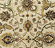 Jaipur Rugs - Hand Knotted Wool and Silk Beige and Brown QNQ-16 Area Rug Closeupshot - RUG1055605