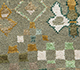 Jaipur Rugs - Hand Knotted Wool and Bamboo Silk Green LES-274 Area Rug Closeupshot - RUG1083962