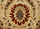 Jaipur Rugs - Hand Knotted Wool Gold OM-01 Area Rug Closeupshot - RUG1044434