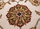 Jaipur Rugs - Hand Knotted Wool and Silk Ivory QNQ-03 Area Rug Closeupshot - RUG1046057