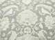 Jaipur Rugs - Hand Knotted Wool and Silk Grey and Black QNQ-10 Area Rug Closeupshot - RUG1062101