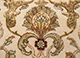 Jaipur Rugs - Hand Knotted Wool and Silk Ivory QNQ-16 Area Rug Closeupshot - RUG1055486