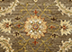 Jaipur Rugs - Hand Knotted Wool Green SPR-17 Area Rug Closeupshot - RUG1048893