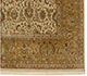 Jaipur Rugs - Hand Knotted Wool and Silk Ivory QNQ-16 Area Rug Cornershot - RUG1055227