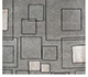 Jaipur Rugs - Hand Knotted Wool and Viscose Grey and Black AAA-45 Area Rug Cornershot - RUG1026990