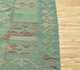 Jaipur Rugs - Flat Weaves Wool Green AFDW-03 Area Rug Cornershot - RUG1091042