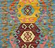 Jaipur Rugs - Flat Weaves Wool Blue AFDW-169 Area Rug Cornershot - RUG1090842