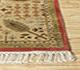 Jaipur Rugs - Hand Knotted Silk Beige and Brown ASL-09 Area Rug Cornershot - RUG1025700