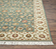 Jaipur Rugs - Hand Knotted Wool Green BT-107 Area Rug Cornershot - RUG1022005