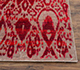 Jaipur Rugs - Hand Knotted Wool and Silk Grey and Black CX-2416 Area Rug Cornershot - RUG1069090