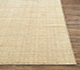 Jaipur Rugs - Hand Loom Wool and Lurex Beige and Brown CX-2436 Area Rug Cornershot - RUG1077778