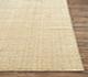 Jaipur Rugs - Hand Loom Wool and Lurex Beige and Brown CX-2436 Area Rug Cornershot - RUG1077778