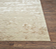 Jaipur Rugs - Hand Knotted Wool and Bamboo Silk Ivory ESKN-431 Area Rug Cornershot - RUG1072246