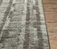 Jaipur Rugs - Hand Knotted Wool and Silk Grey and Black CX-2523 Area Rug Cornershot - RUG1077759