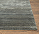 Jaipur Rugs - Hand Knotted Wool and Bamboo Silk Grey and Black CX-2524 Area Rug Cornershot - RUG1072843